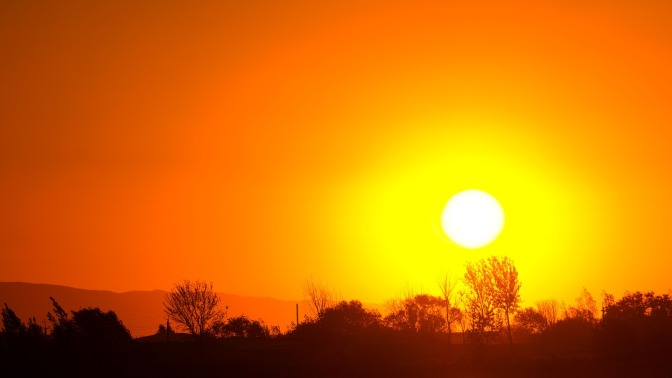 U.S. Under Heat Warning With High Pressure Heat Dome Covering Country