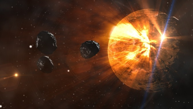 New Theory Says Moon Was Created By Planetary Collision
