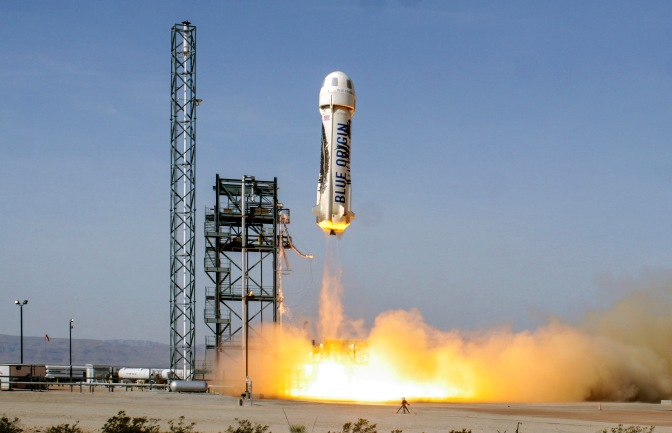 Photo from Blue Origin