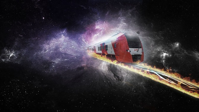 Concept Space Train Could Travel To Mars In Days